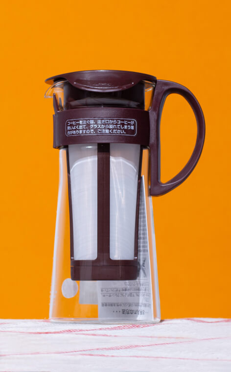Hario - Mizudashi Coffee Pot Mini | brÄ…zowy