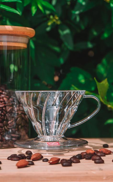 Hario - plastikowy Drip V60-01 | drip do kawy | Biały