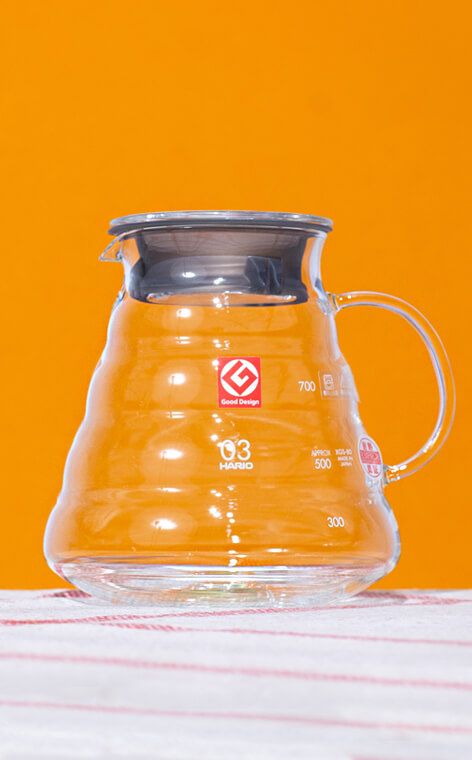 Hario - Range Server V60-03 | clear | 800ml