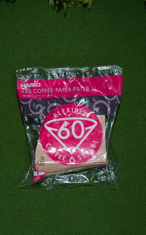 Hario - V60 filtry papierowe do dripa Misarashi brązowe | filtry do kawy | rozmiar 01 - 100 szt.