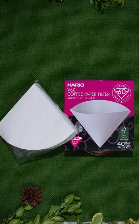 Hario - V60 filtry papierowe do dripa | filtry do kawy | rozmiar 02 - 40 szt.