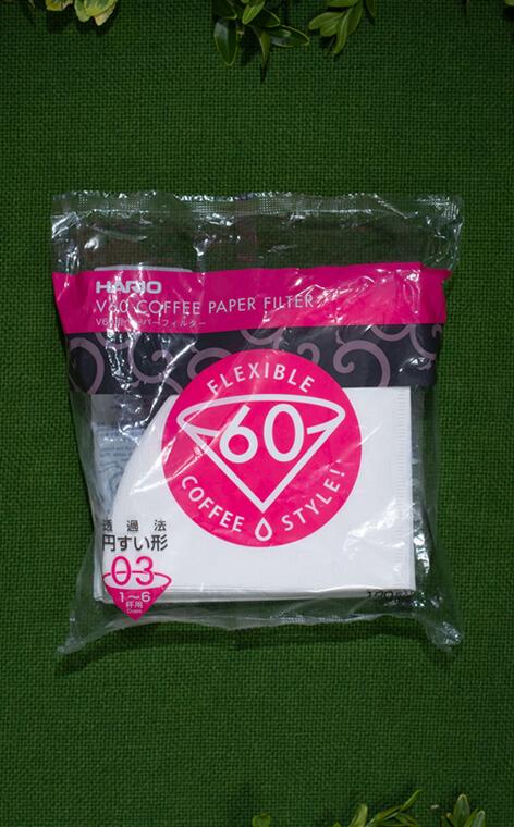 Hario - V60 filtry papierowe do dripa | filtry do kawy | rozmiar 03 - 100 szt.