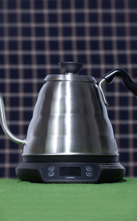 Hario -  Buono Power Kettle with Temperature Adjustment | 0,8l