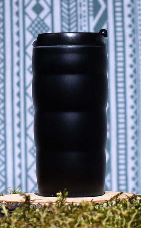 Hario - V60 Uchi-Mug | kubek termiczny do kawy | czarny 350 ml