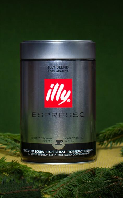 Illy - Dark Roast | kawa mielona | 250g