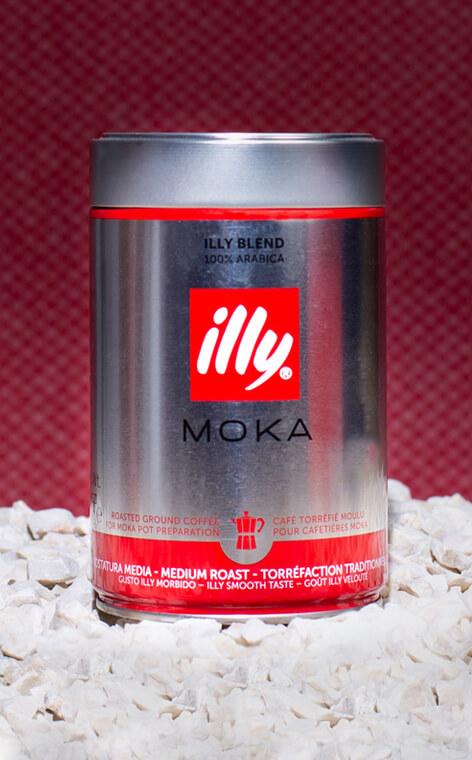 Illy - Moka | kawa mielona | 250g