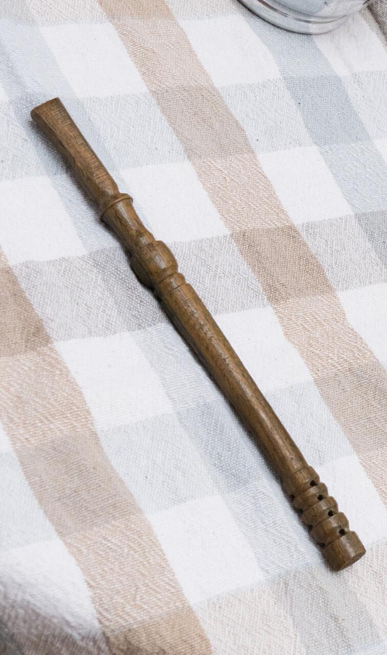 Bombilla - Palo Santo | drewniana słomka do yerba mate | 19 cm