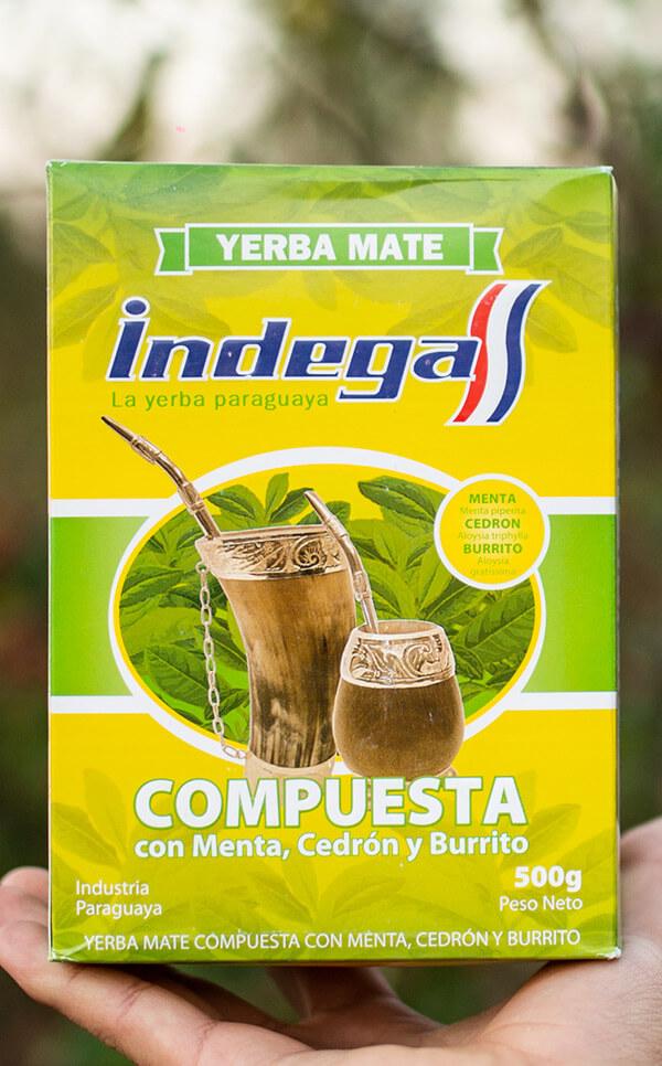 Indega - Compuesta con Hierbas | yerba mate | 500g