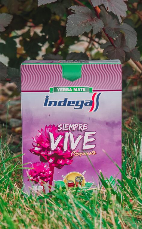 Indega - Siempre Vive | yerba mate | 500g