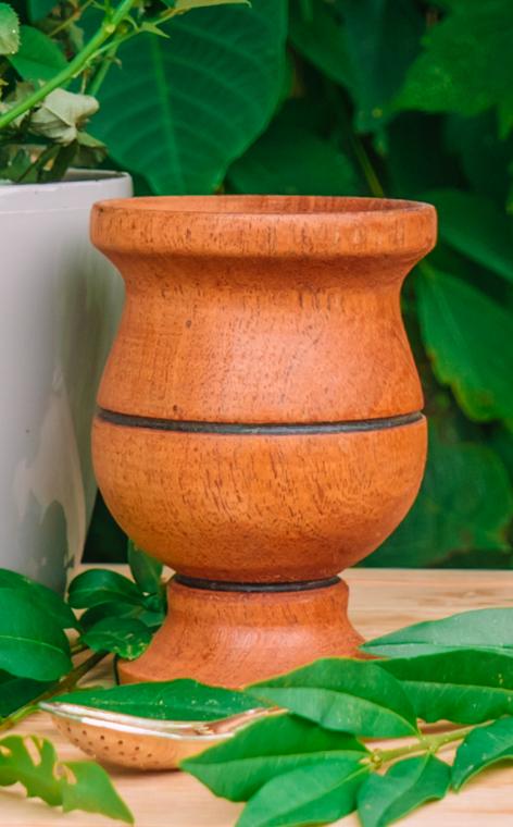 Matero - Kielich Algarrobo | ozdobne naczynie do yerba mate | 120ml