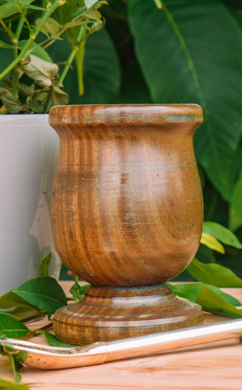 Matero - Kielich Palo Santo | ozdobne naczynie do yerba mate | 120ml