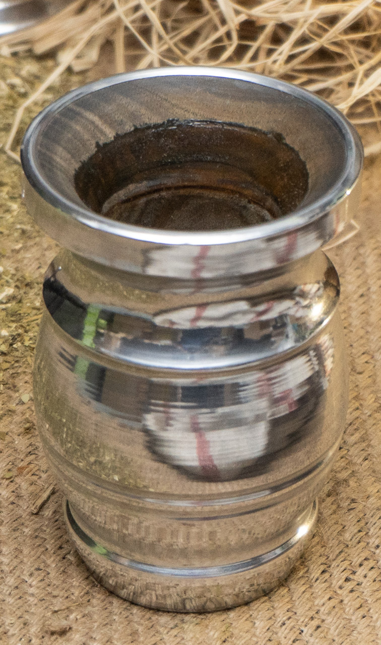 Matero - Palo Santo Cubo Grande okute | duże naczynie do yerba mate