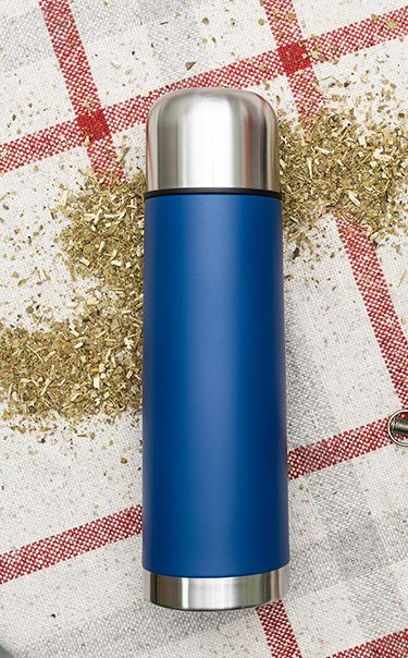 Termos - Standard 750ml | niebieski | termos do yerba mate, kawy, herbaty