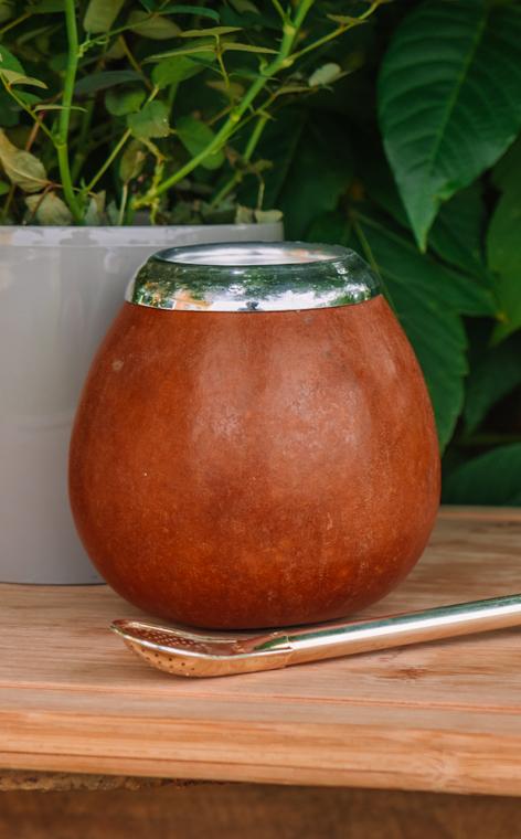 Tykwa - Calabaza natural wielka   tradycyjne naczynie do yerby   500ml