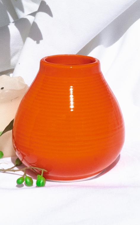 Tykwa - Ceramiczna Pera | pomarańczowa | 300ml
