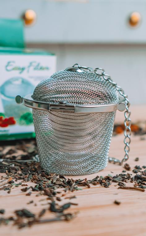 Zaparzacz - do herbaty, ziół, naparów | koszyk L