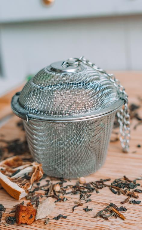Zaparzacz - do herbaty, ziół, naparów   koszyk XXL