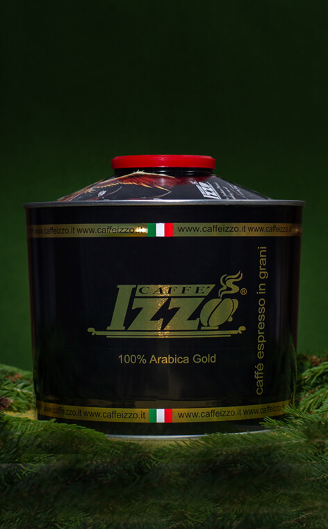 Izzo - Gold 100% Arabica | kawa ziarnista | 1kg