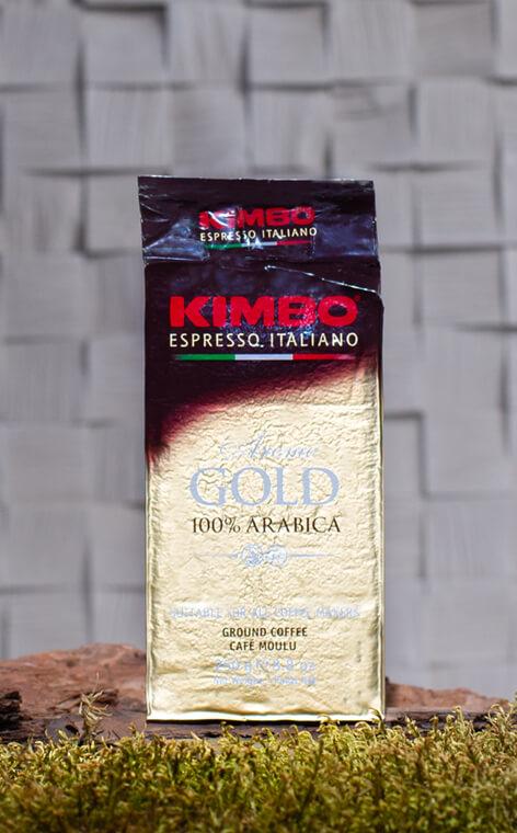 Kimbo - Aroma Gold 100% Arabica  | kawa mielona | 250g
