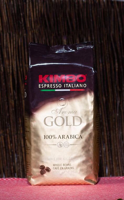 Kimbo - Aroma Gold 100% Arabica | kawa ziarnista | 1kg