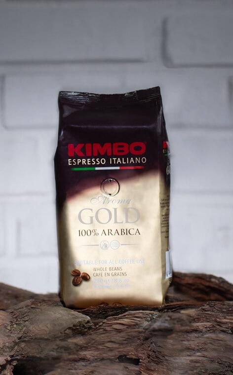 Kimbo - Aroma Gold 100% Arabica  | kawa ziarnista | 250g