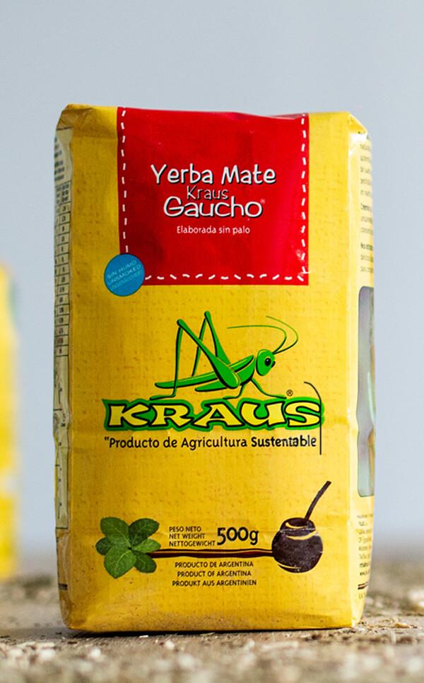 Kraus - Gaucho Sin Palo | yerba mate | 500g