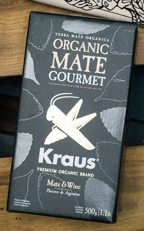 Kraus - Gourmet | Yerba mate elaborada Premium | 500g