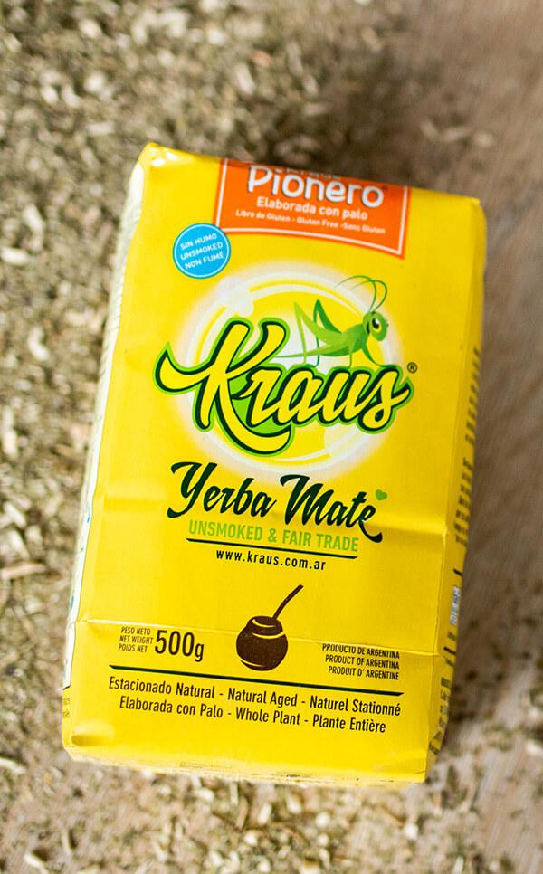 Kraus - Pionero | yerba mate | 500g