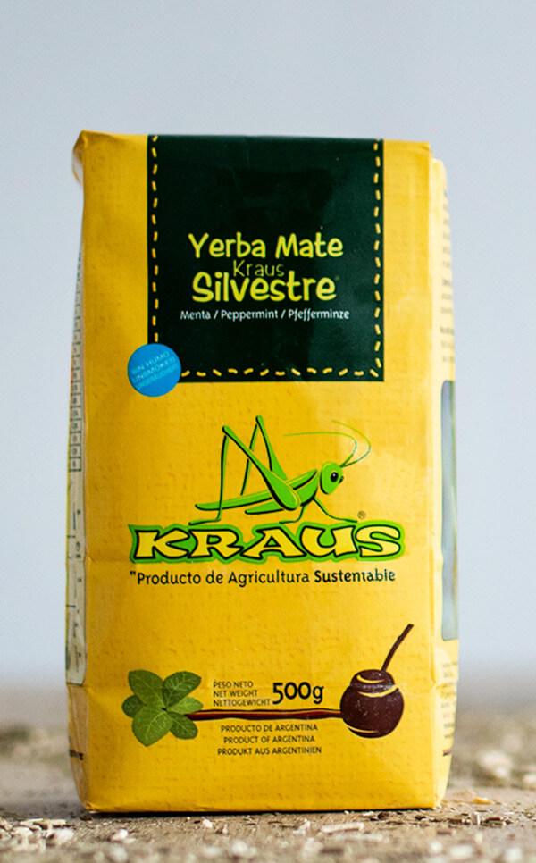 Kraus - Silvestre Peppermint | yerba mate | 500g