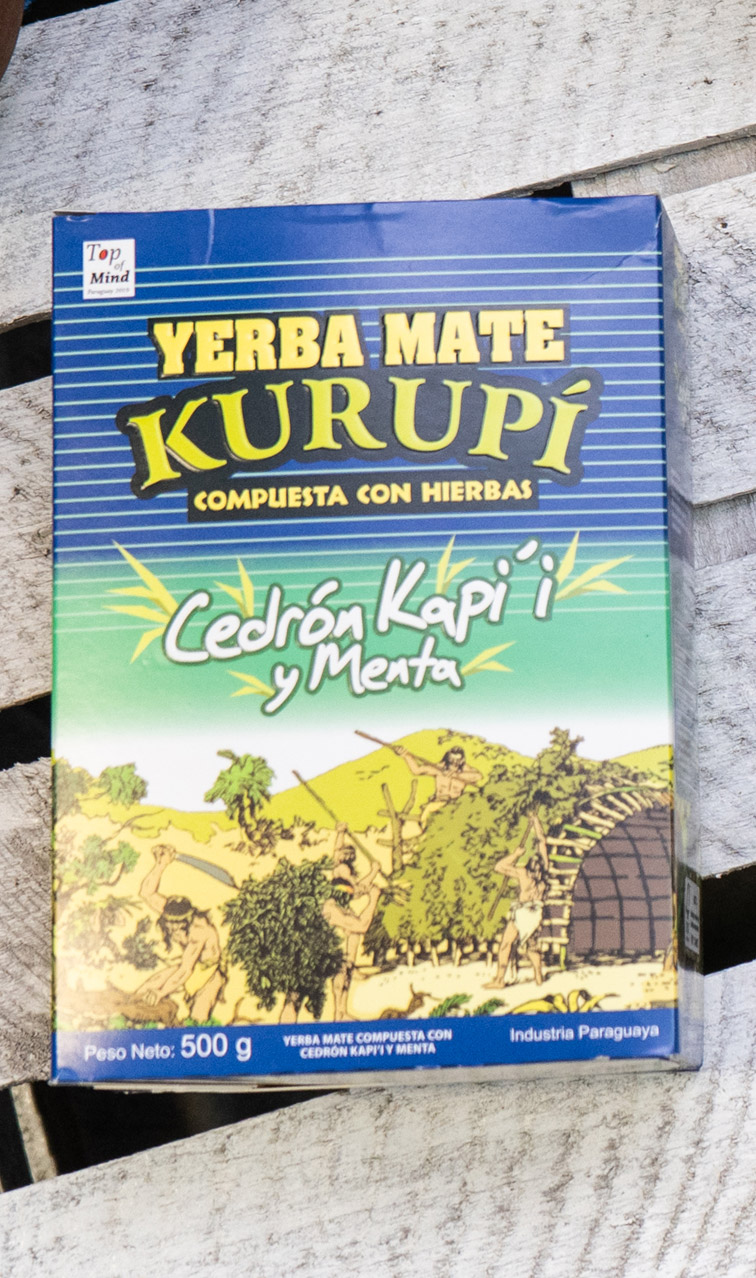 Kurupi - Cedron Kapi'i y Menta | yerba mate | 500g