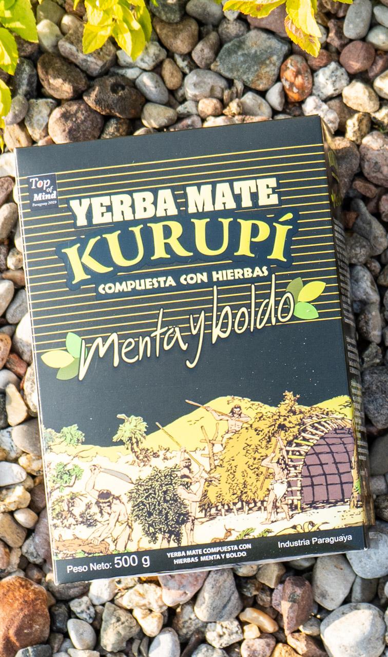 Kurupi - Menta Boldo | yerba mate | 500g