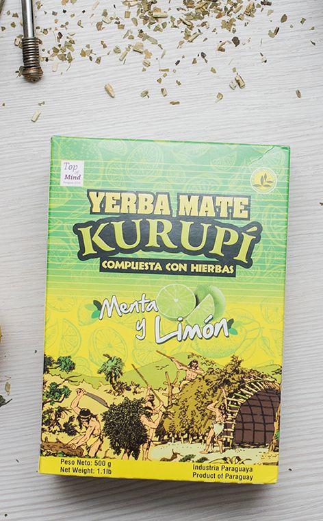 Kurupi - Menta Limon | yerba mate | 500g