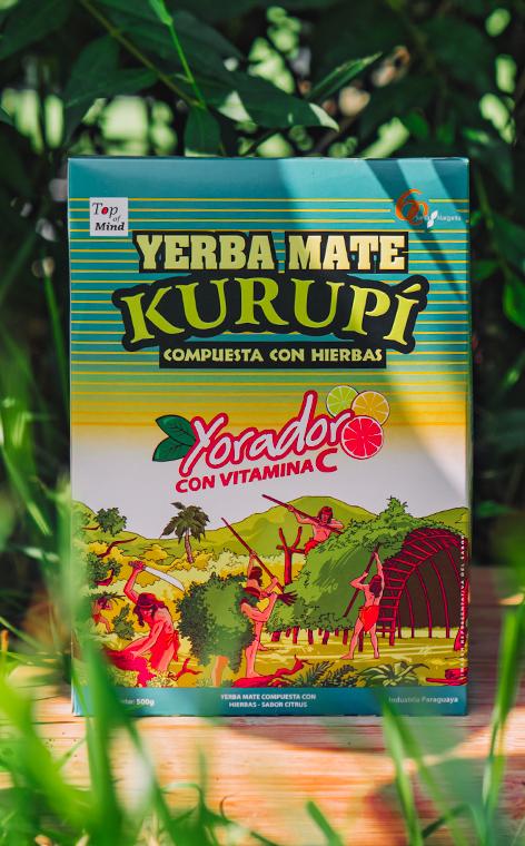 Kurupi - Sabor Citrus | yerba mate | 500g