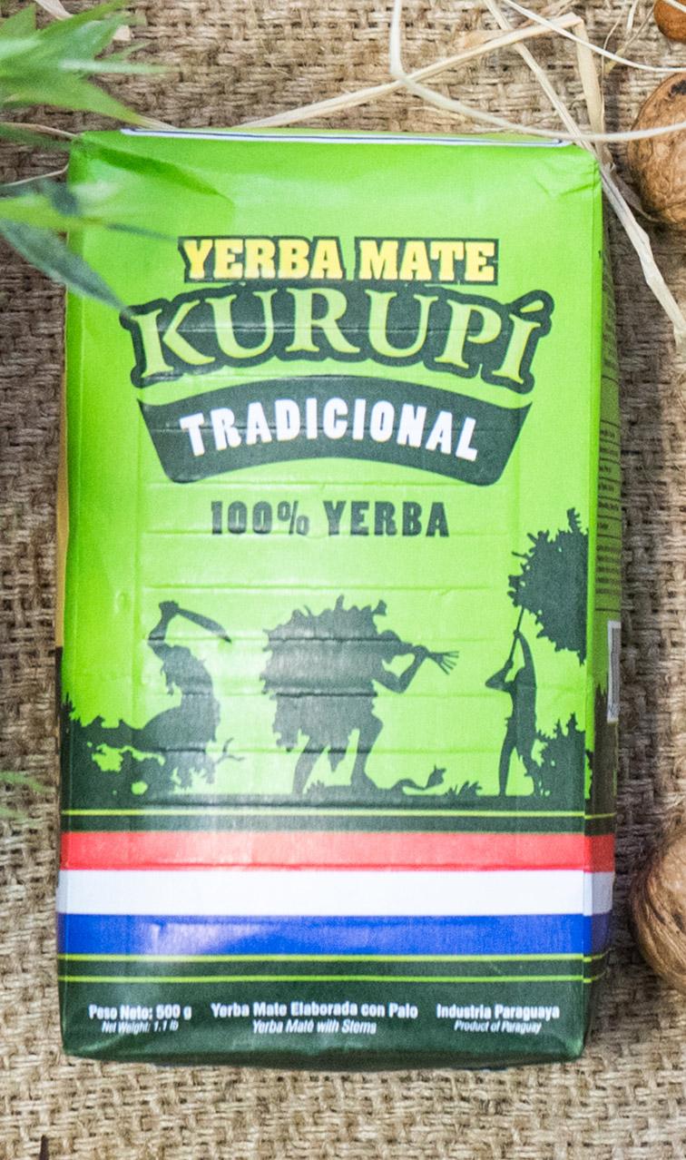 Kurupi - Tradicional Elaborada Con Palo | yerba mate | 500g