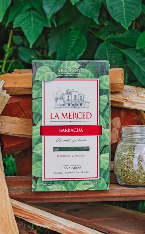La Merced - Barbacua | yerba mate | 500g