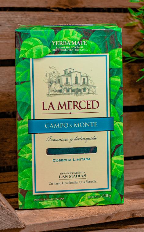 La Merced - Campo & Monte   yerba mate   500g