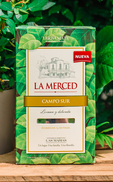 La Merced - Campo Sur   yerba mate   500g
