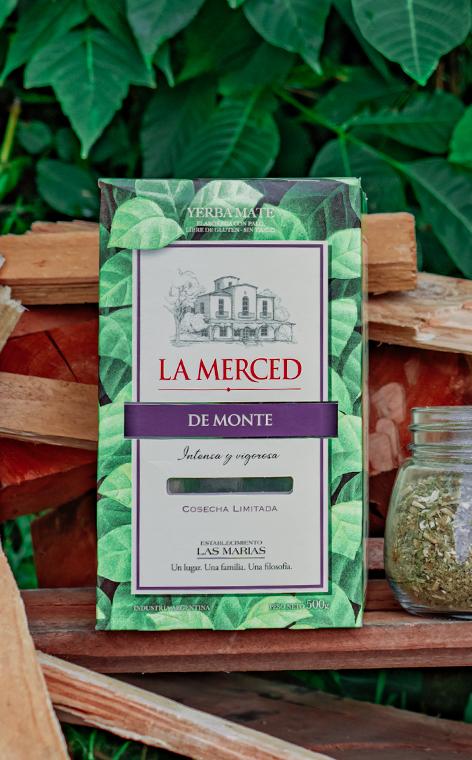 La Merced - de Monte | yerba mate | 500g