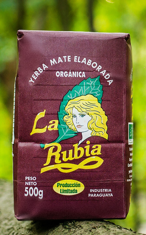 La Rubia - Elaborada Con Palo Tradicional | yerba mate | 500g