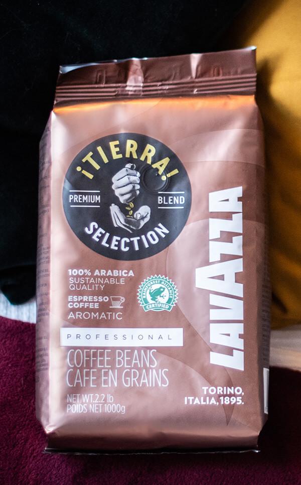 Lavazza - Tierra 100% Arabica  | kawa ziarnista | 1kg