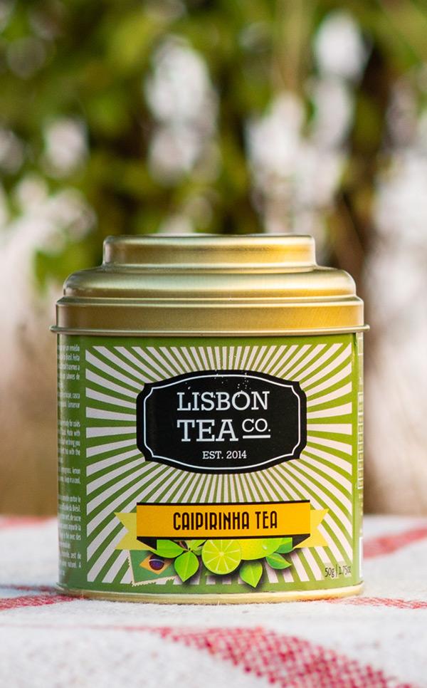 Lisbon Tea - zielona herbata  | o smaku Caipirinha | 50g