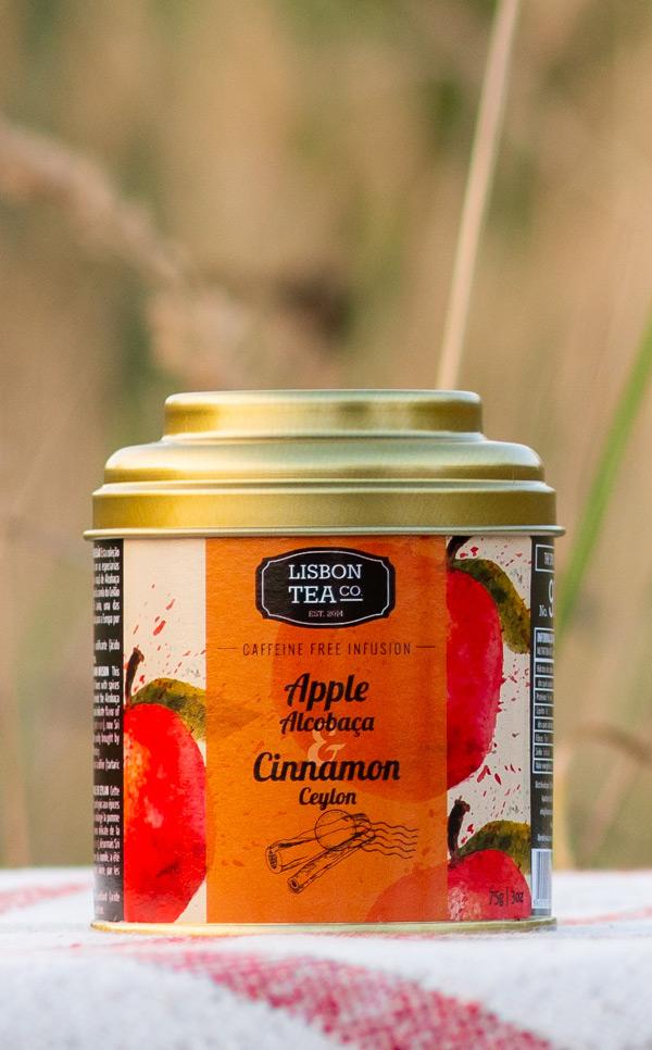 Lisbon Tea - jabłko z Alcobaca | z cejlońskim cynamonem | 75g