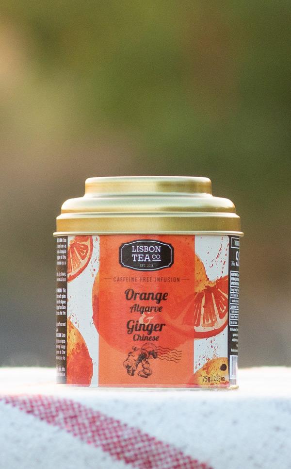 Lisbon Tea - pomarańcza z Algarve | z chińskim imbirem | 75g