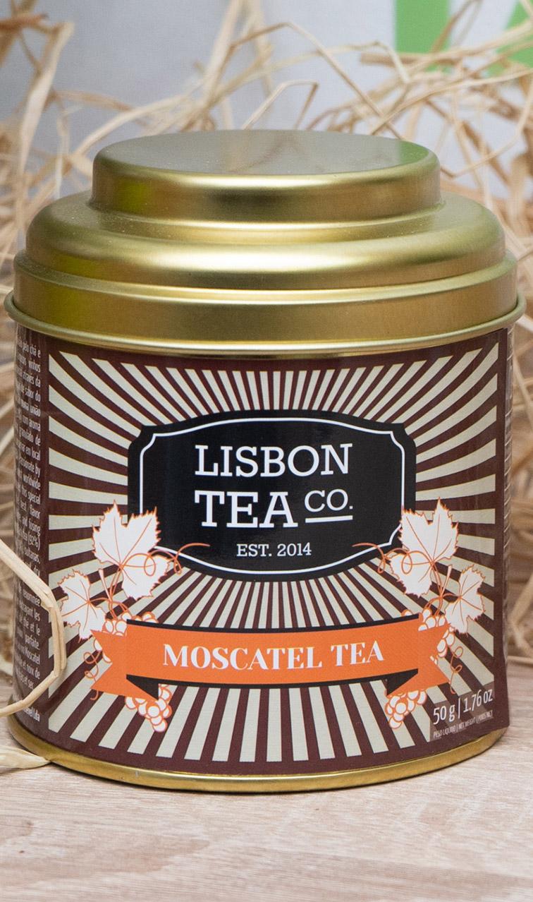 Lisbon Tea - czarna herbata o smaku wina Moscatel | 50g
