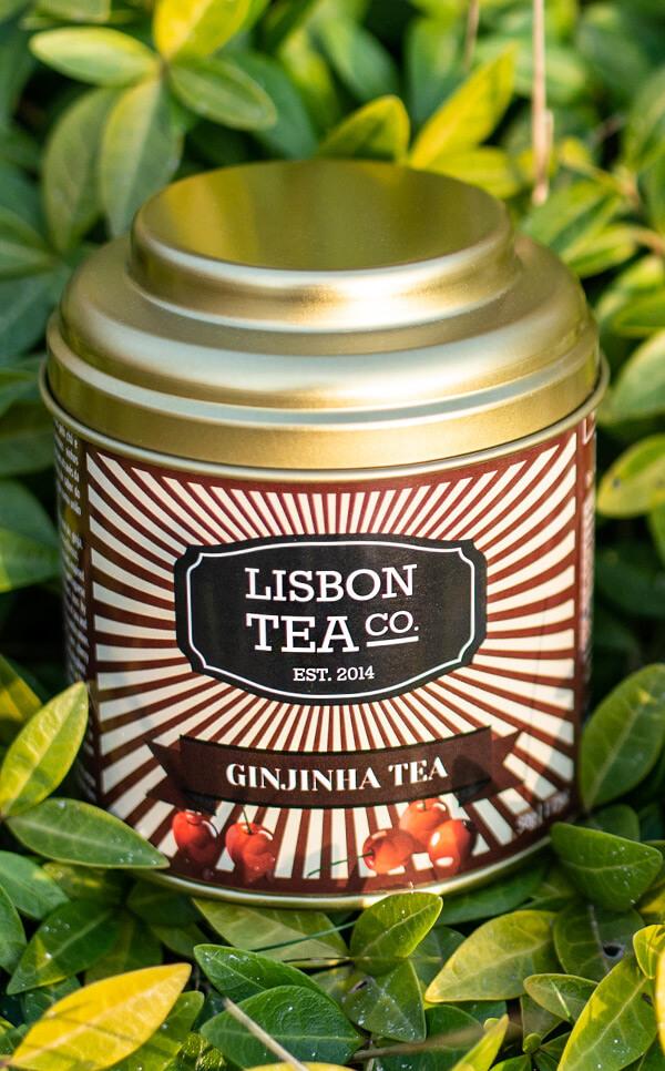 Lisbon Tea - czarna herbata  | o smaku likieru Ginjinha  | 50g