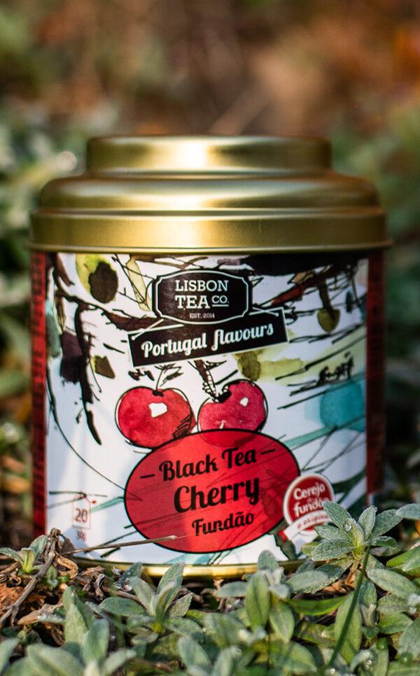 Lisbon Tea - czarna herbata | z czereÅ›niÄ… z Fundao | 75g
