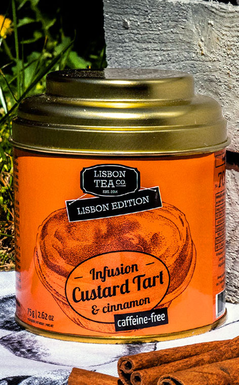 Lisbon Tea - Prażone jabłko z cynamonem | napar owocowo ziołowy | 75g