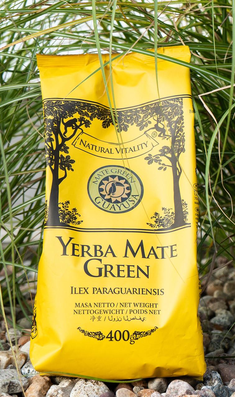 Mate Green - Guayusa | ziołowa yerba mate | 400g