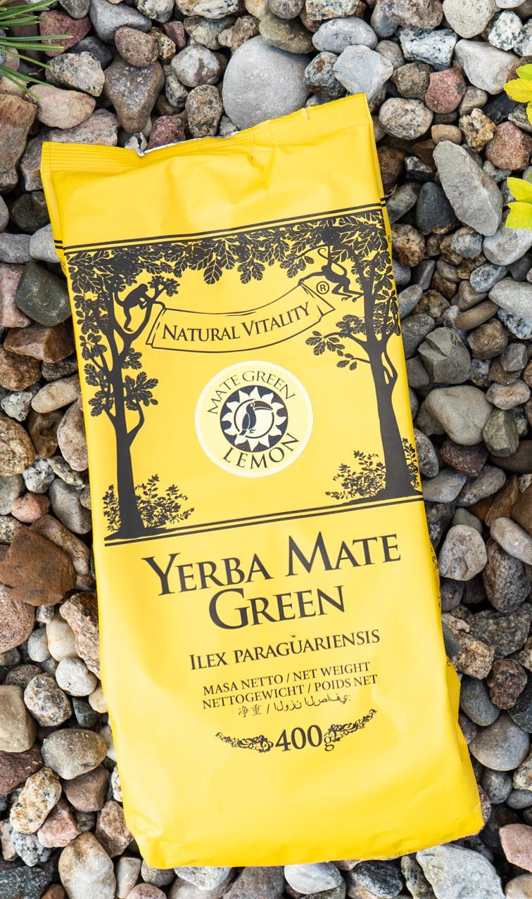 Mate Green - Lemon | yerba mate orzeźwiająca | 400g
