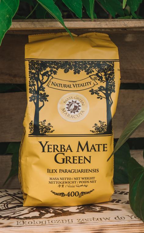 Mate Green - Maracuya   owocowa yerba mate   400g